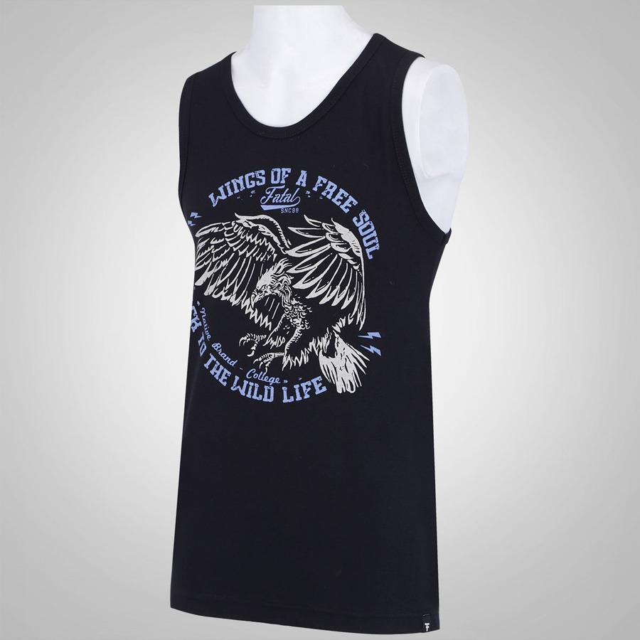 Camiseta Regata Fatal Estampada 13698 - Masculina 20a4663ea74c6