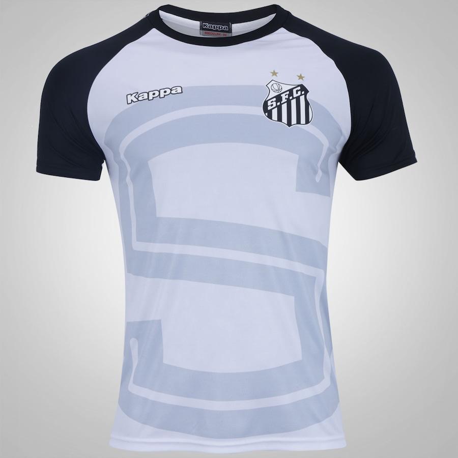 Camiseta do Santos 2017 Lima Kappa - Masculina b5b8a34063e64