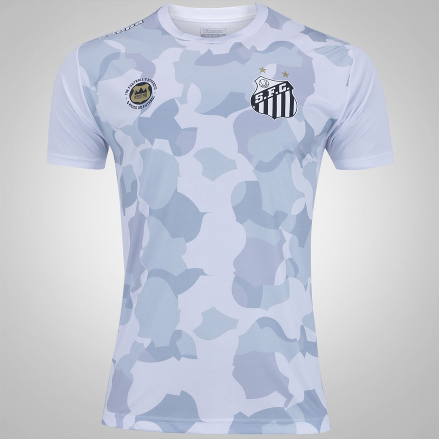 8a1ca9158a Camiseta do Santos 2017 Belmiro Kappa - Masculina