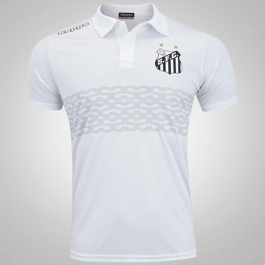 1b49e89f95 Camisa Polo do Santos 2017 Geraldino Kappa - Masculina