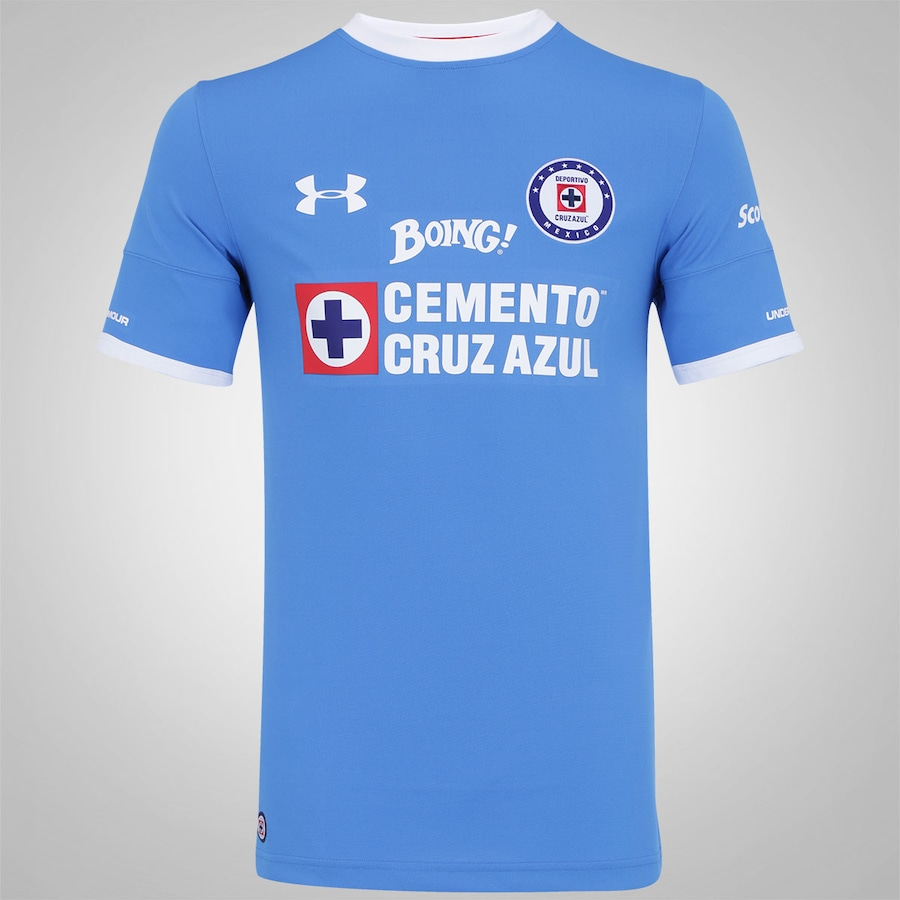 Camisa Cruz Azul I 16 17 Under Armour - Masculina f141e3ad836