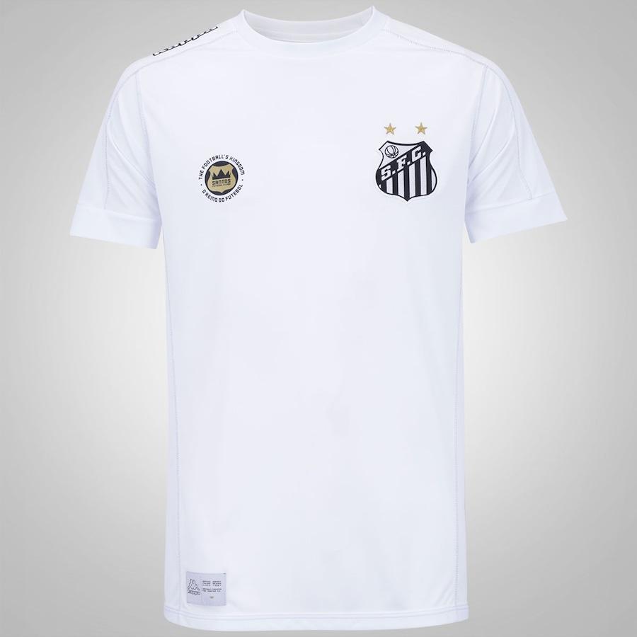 8e64d221fe951 Camisa do Santos I 2017 Kappa - Masculina