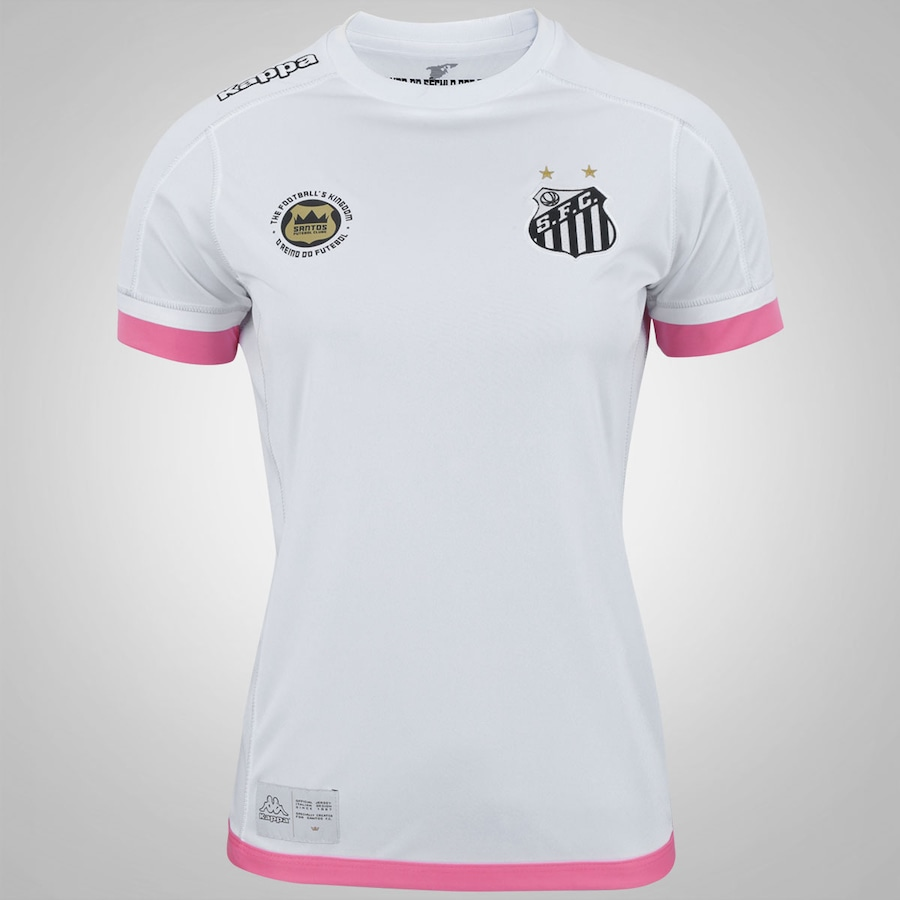 Camisa do Santos I 2017 Kappa - Feminina 0df2525cd2702