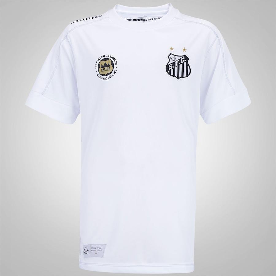 Camisa do Santos I 2017 Kappa - Infantil 47f5a87b77946