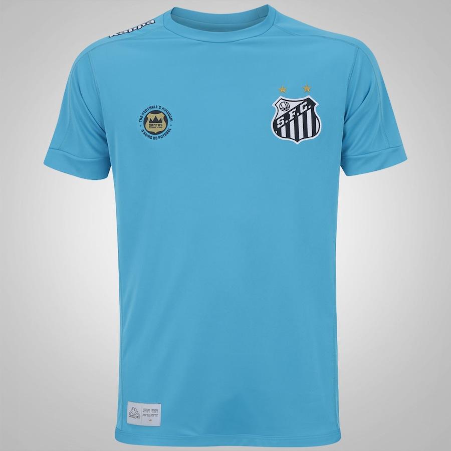 Camisa de Goleiro do Santos II 2017 Kappa - Masculina 001600493bfa6