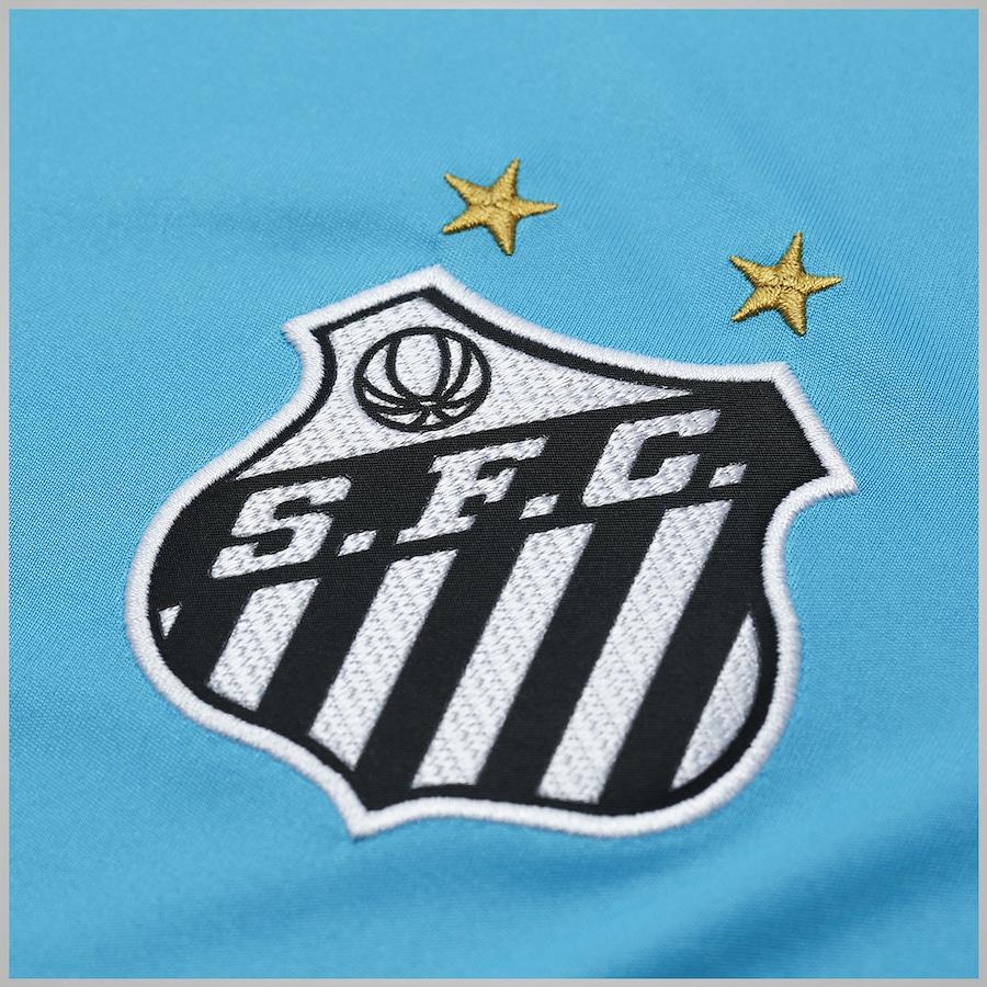 Camisa Kappa Santos Goleiro Iv 2017 Libertadores 1 Vanderlei c1ab3ad329365