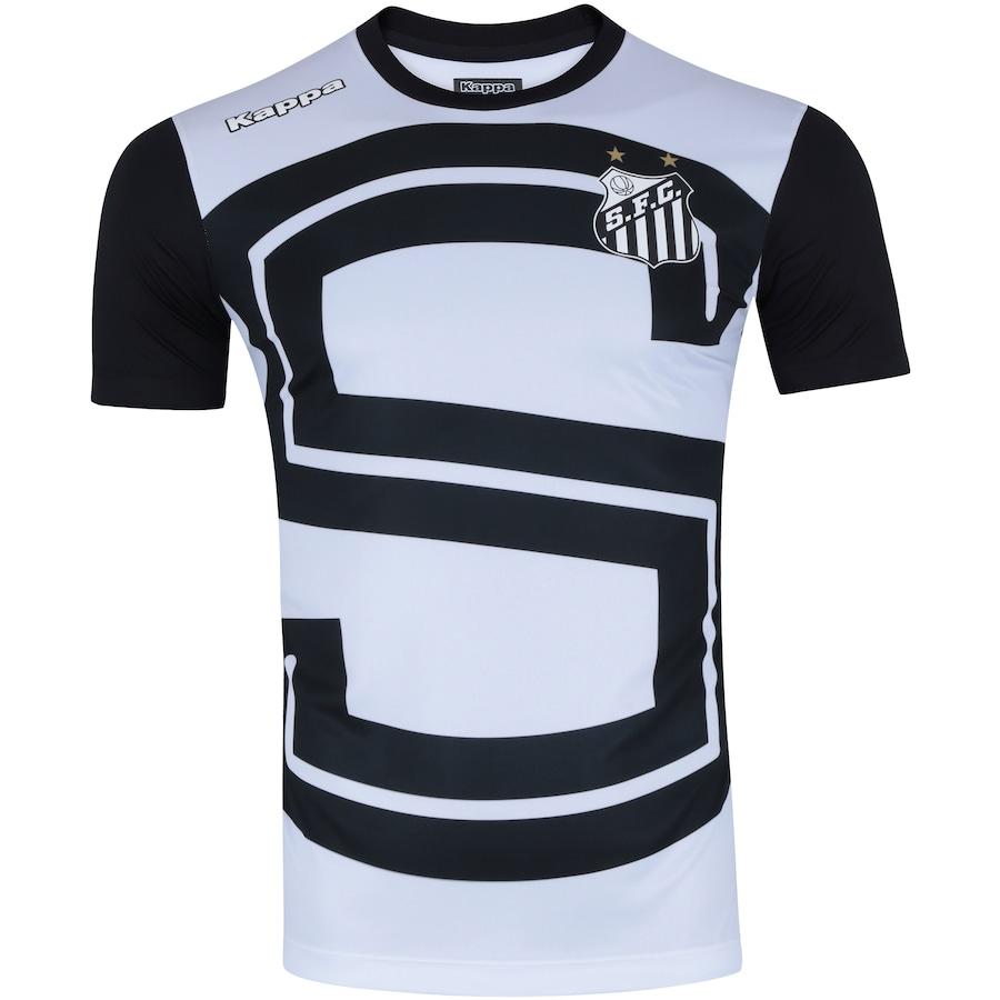 417656f447739 Camisa do Santos Aquecimento 2017 Kappa - Masculina