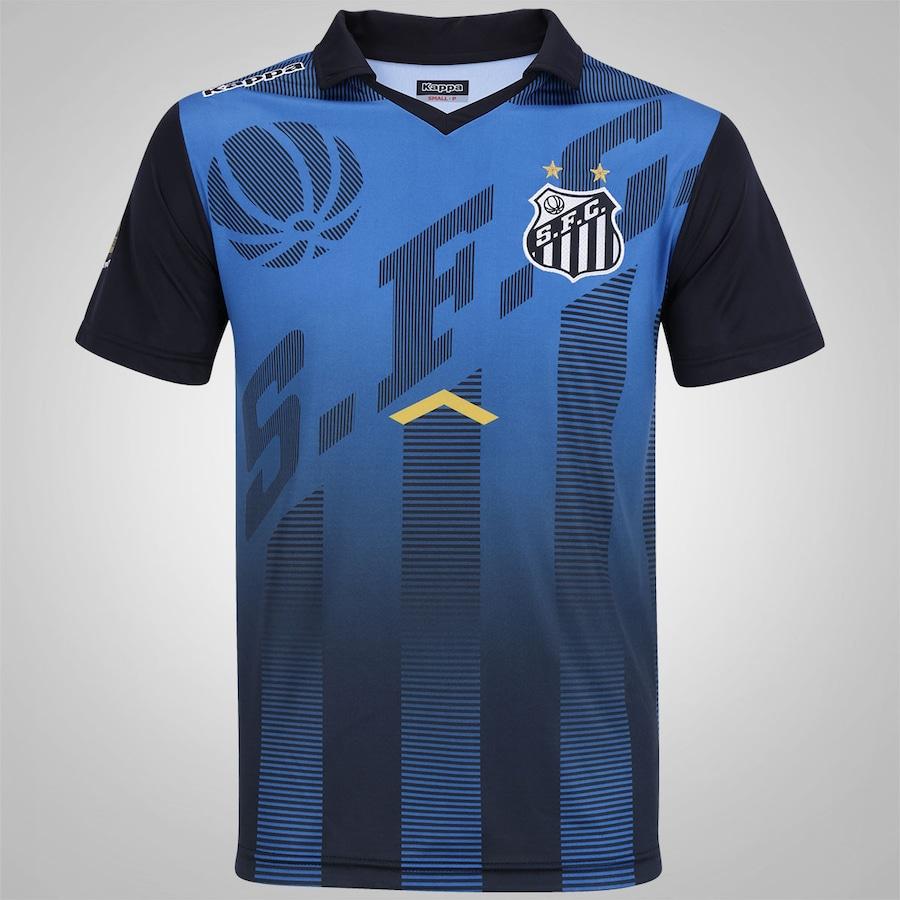 538395639122c Camisa Polo de Viagem do Santos 2017 Kappa - Masculina