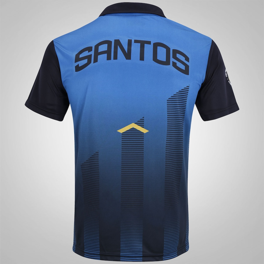 95d438aa0b Camisa Polo de Viagem do Santos 2017 Kappa - Masculina
