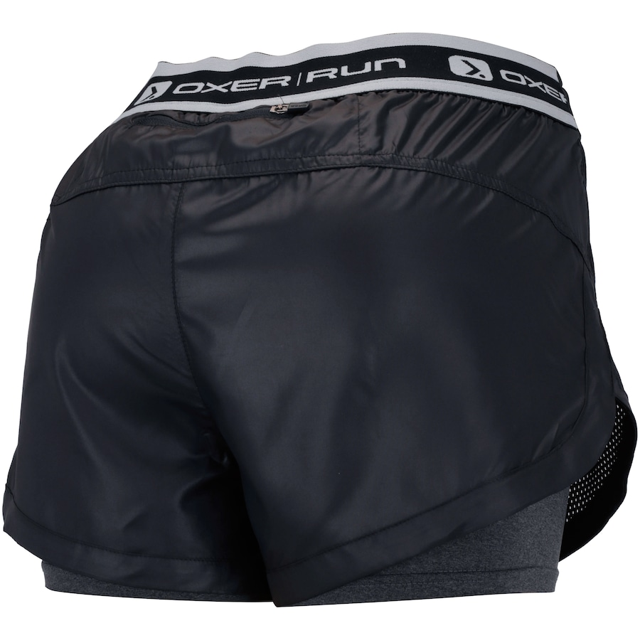 Shorts Oxer 2x1 Perfurated - Feminino 297ddb7a881