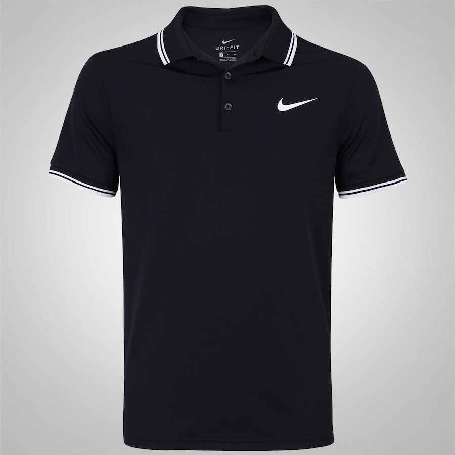 99d22523527e5 Camisa Polo Nike Court Dry Solid - Masculina