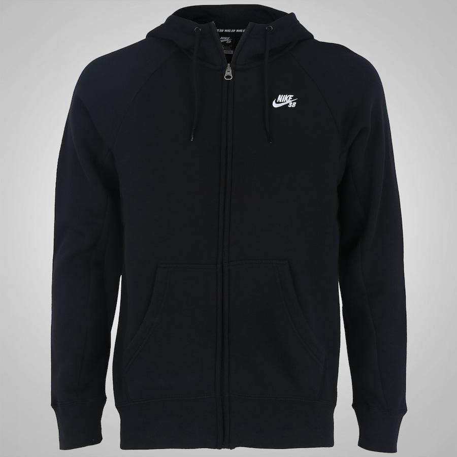d615114d63ef8 Jaqueta de Moletom com Capuz Nike SB Icon FZ Hoodie