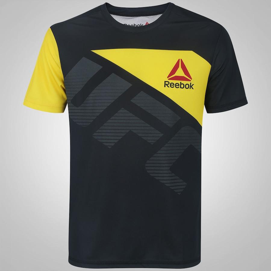 e35c48b05cd Camiseta Reebok M Blank UFC - Masculina