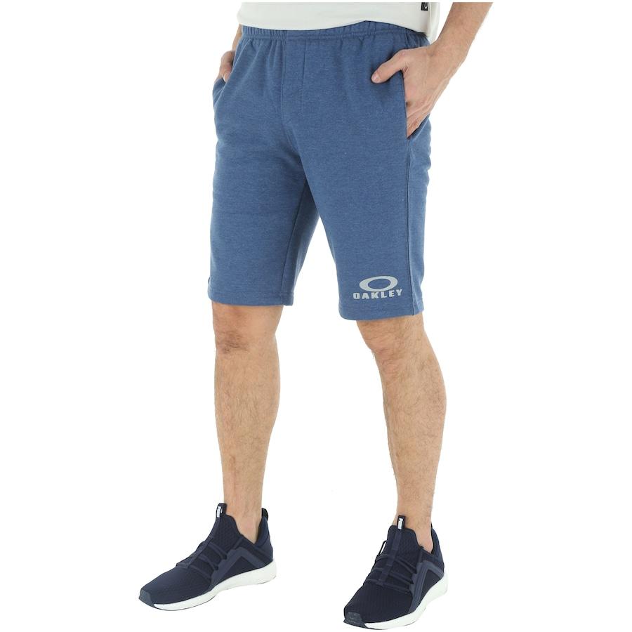 Bermuda de Moletom Oakley Logo Fleece - Masculina 82e74b3e0a8
