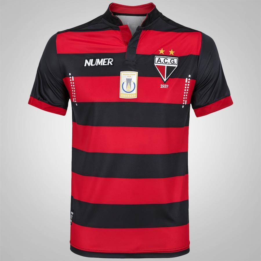 ed70c8d1df Camisa do Atlético Goianiense I 2016 nº 10 Numer Masculina