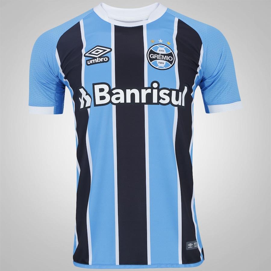0ff44ba59c Camisa do Grêmio I 2017 Umbro - Masculina