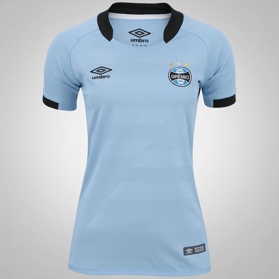Camisa do Grêmio II 2017 Umbro - Feminina 18650502fbe21