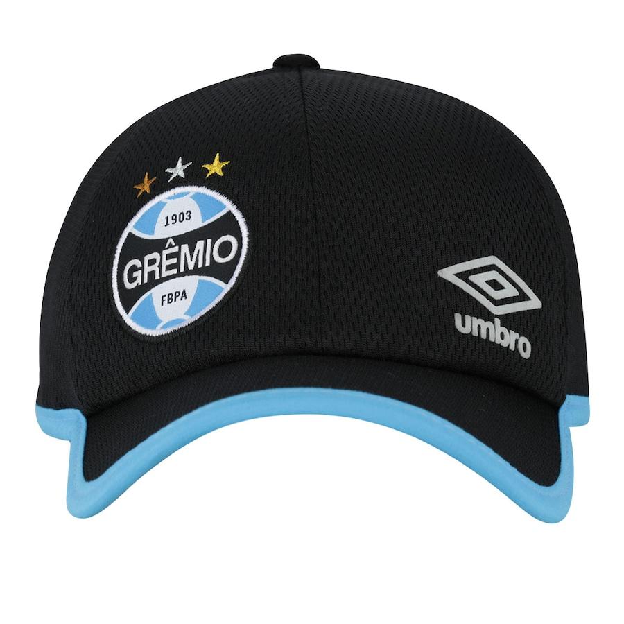 Boné Umbro Grêmio 2017 Treino - Strapback - 5 Panel Adulto 096f55020e2
