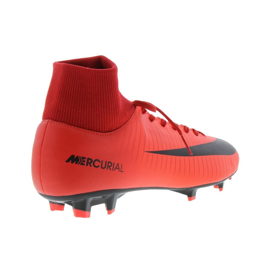 87c5c16367 Chuteira de Campo Nike Mercurial Victory VI DF FG - Adulto