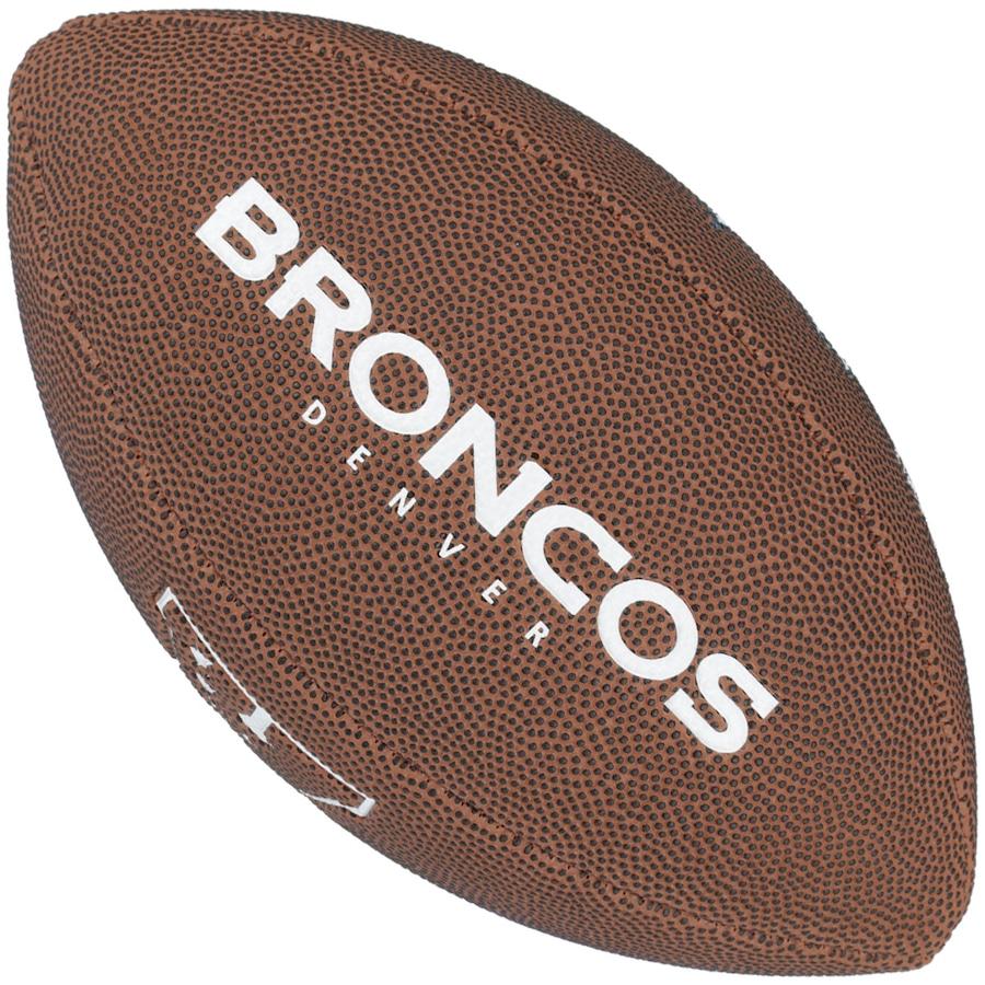 635b5e5ee87ba Bola de Futebol Americano Wilson Denver Broncos Team Logo
