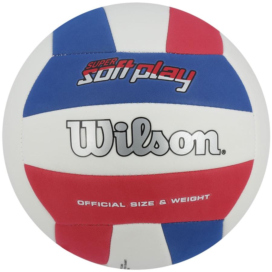 ddb69ed74 Bola de Vôlei Wilson Super Soft Play