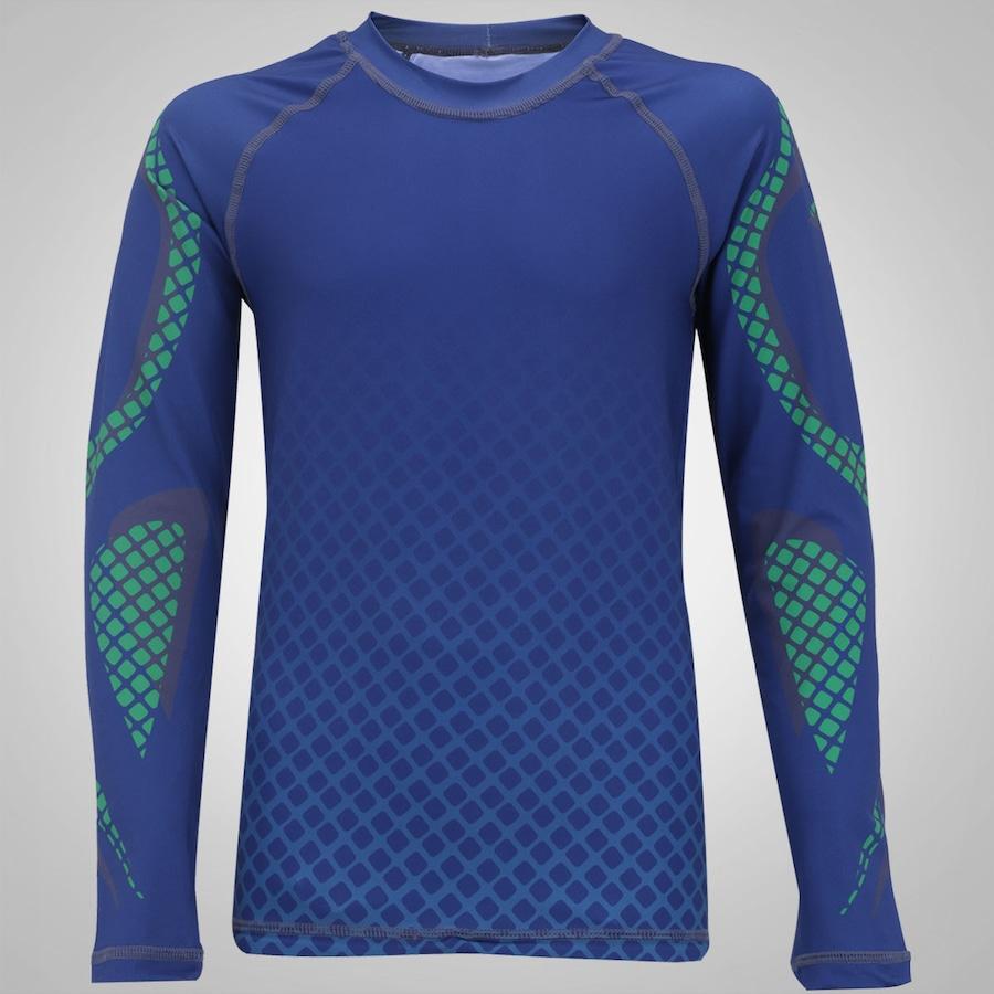 f7db4843d8 Camiseta Manga Longa Proteção UV Line Acqua Teens Surf