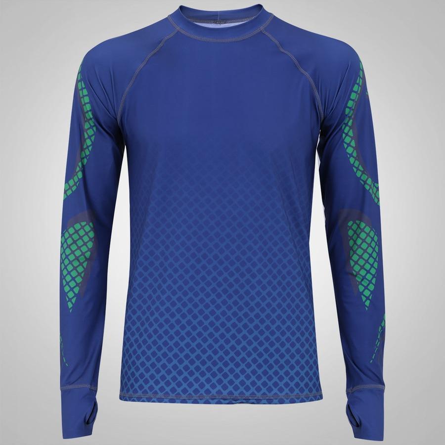 a97694cbdb Camiseta Manga Longa com Proteção Solar UV Line Acqua Tech
