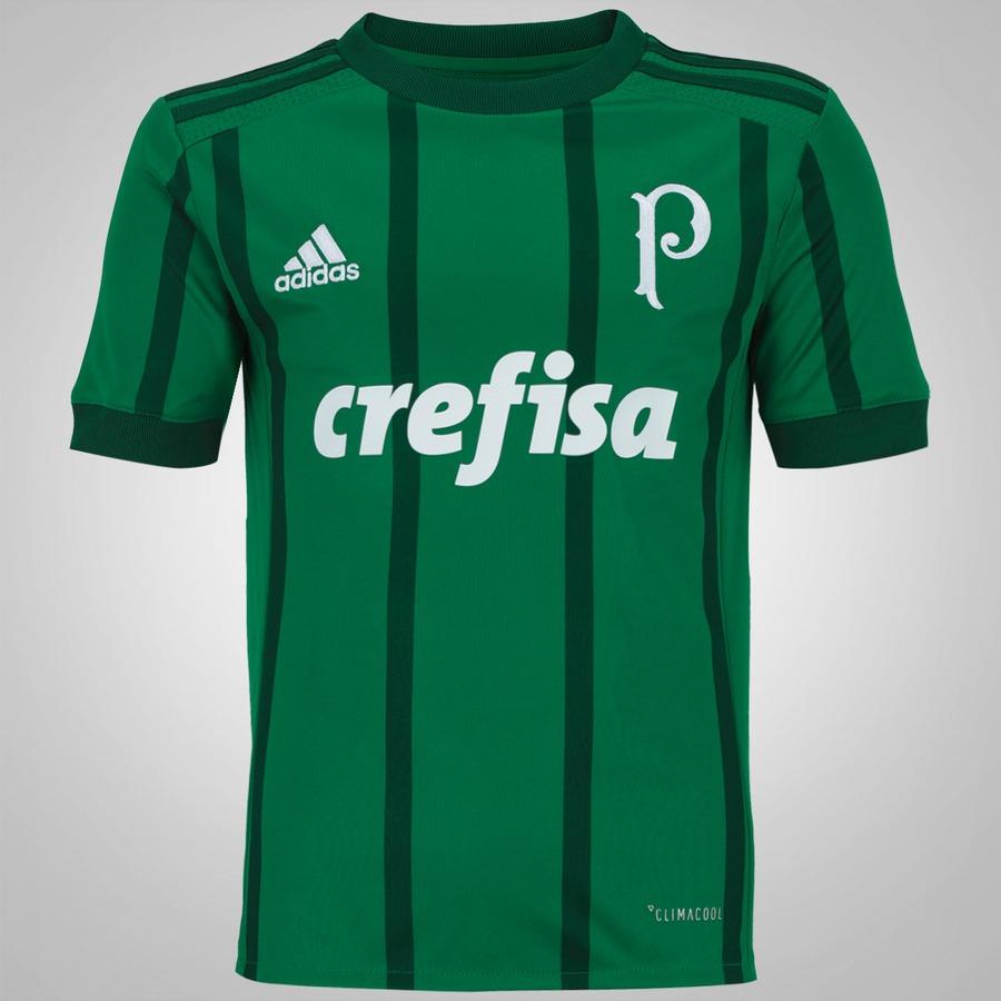 c47dab72db Camisa do Palmeiras I 2017 adidas - Infantil