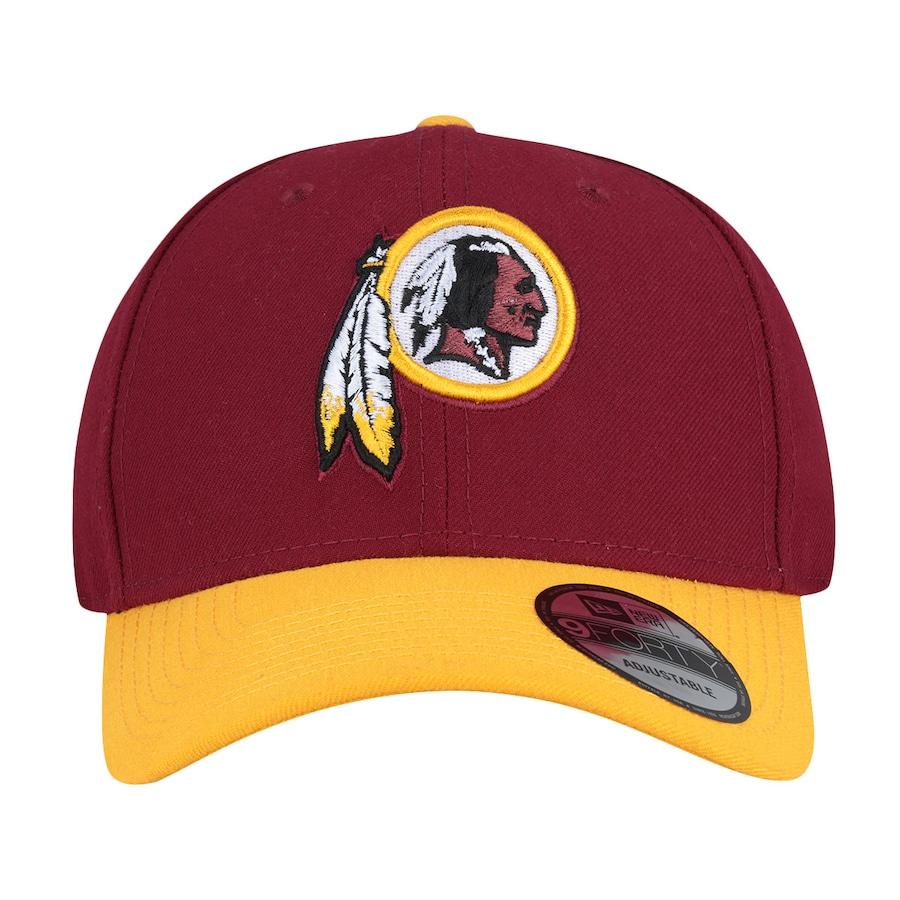 Boné Aba Curva New Era Washington Redskins Basic - Snapback - Adulto 9e05fae05fc