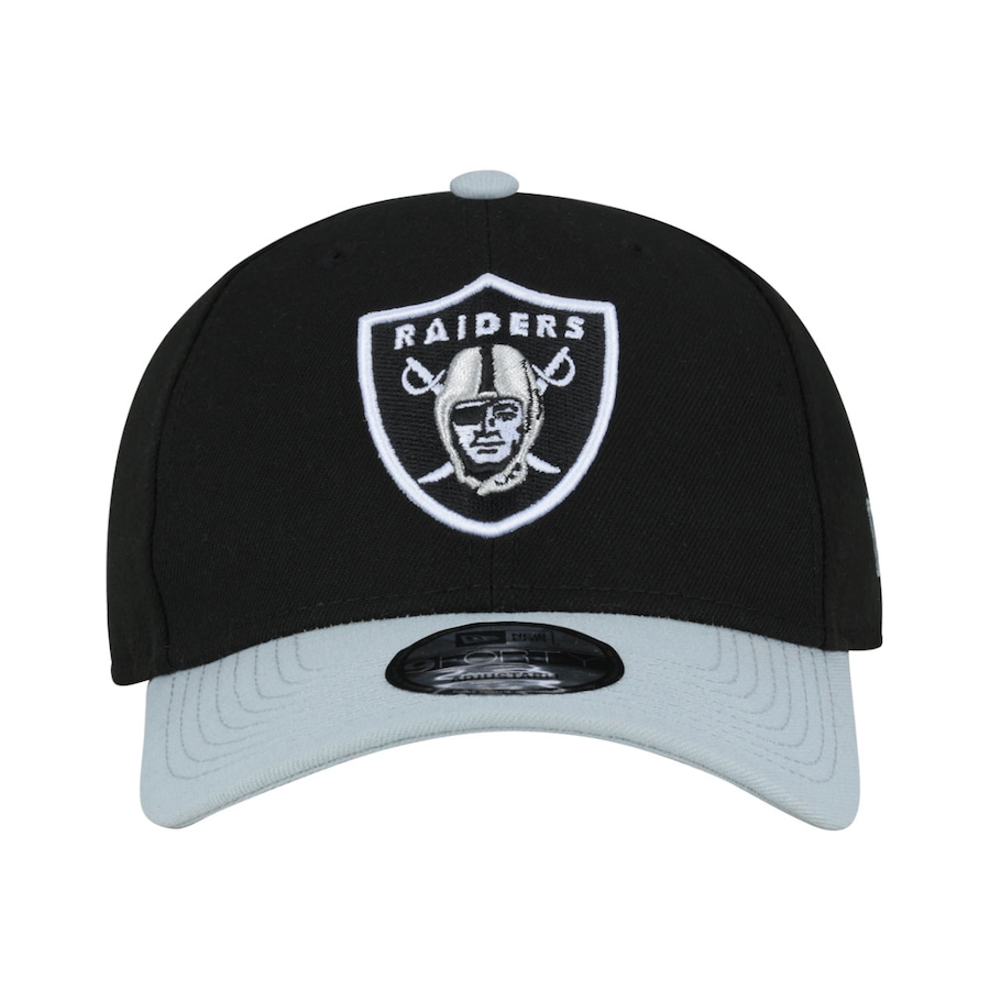 e94ceb9b9a839 Boné Aba Curva New Era Oakland Raiders Basic - Snapback - Adulto
