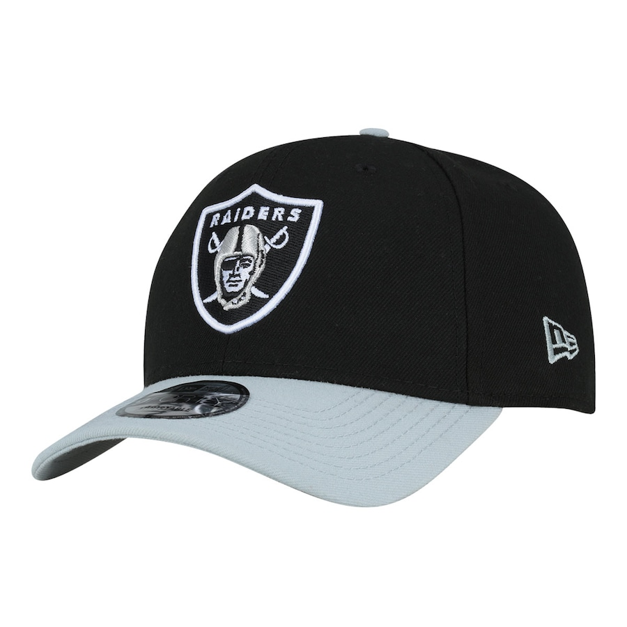 Boné Aba Curva New Era Oakland Raiders Basic - Snapback - Adulto 5a45f97c431