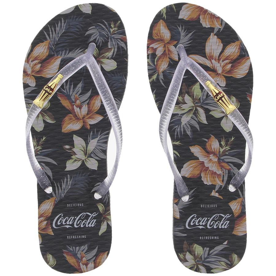 bb9b5e50f Chinelo Coca-Cola Tropic - Feminino