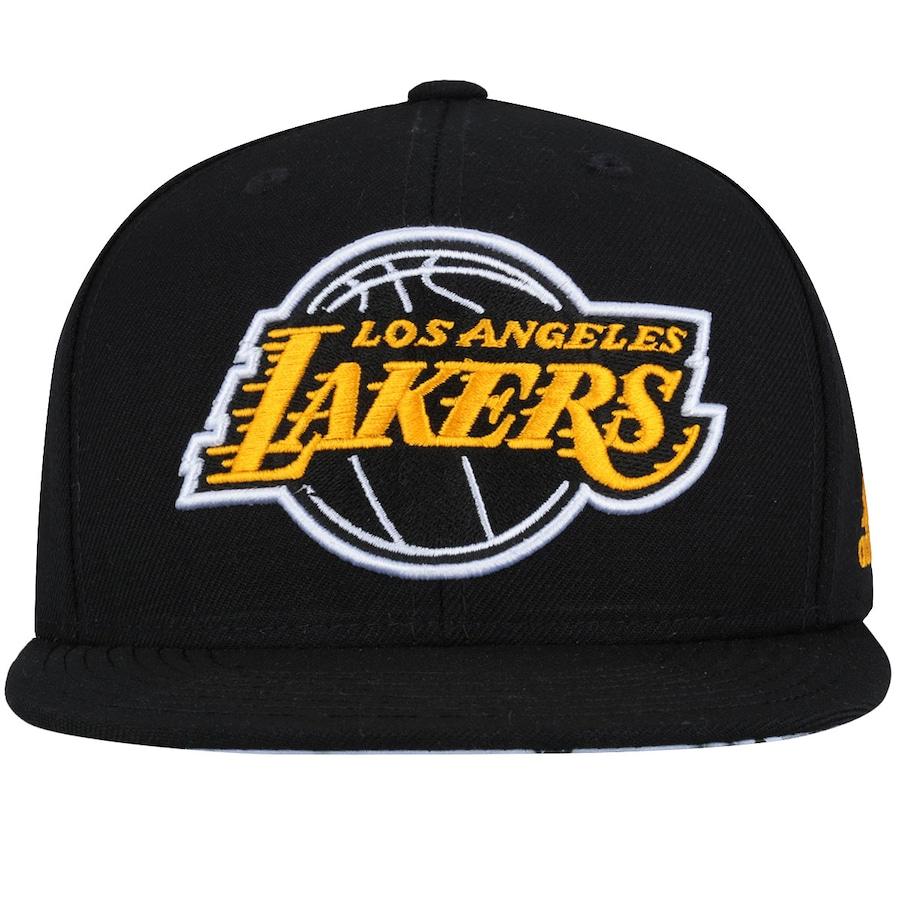Boné Aba Reta adidas Flat Los Angeles Lakers - Snapback b5ab008e44c