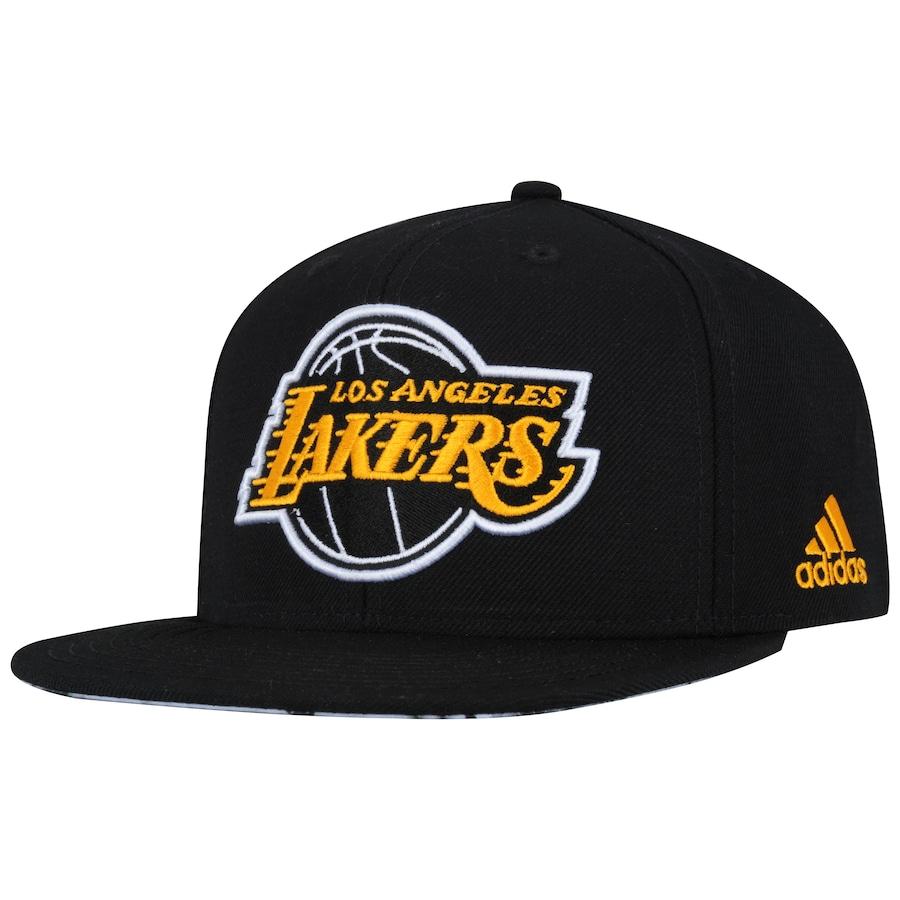 ... Boné Aba Reta adidas Flat Los Angeles Lakers - Snapback - Adulto ... 7faa73d0c41