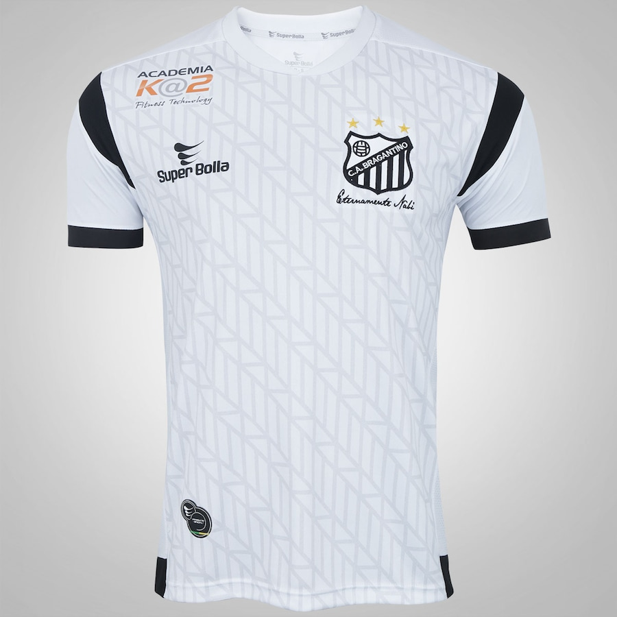eccb96c3ad Camisa do Bragantino I 2017 nº 10 Super Bolla - Masculina