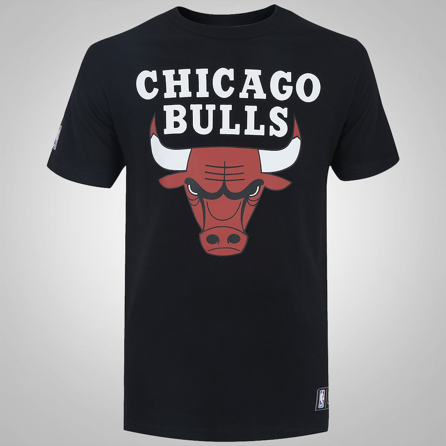 Camiseta New Era Chicago Bulls Basic Logo - Masculina c4c80a67963c2