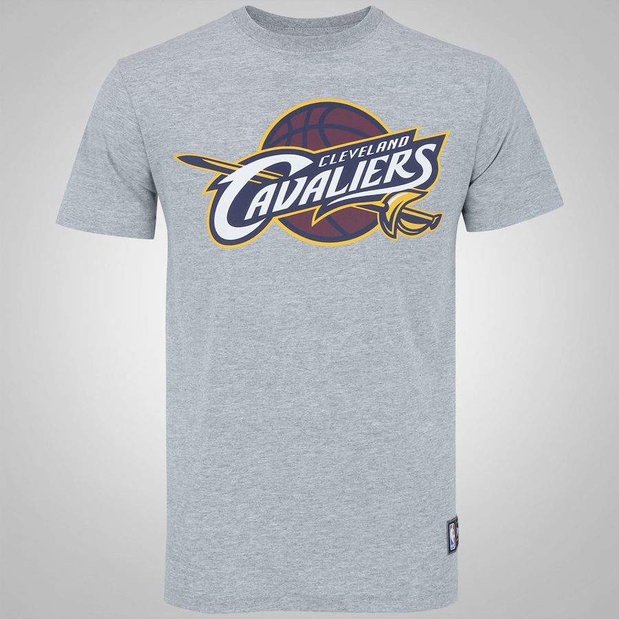 68fee654df Camiseta New Era Cleveland Cavaliers Basic Logo - Masculina