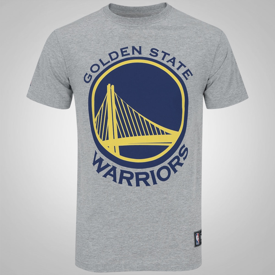 73f6b8c3df Camiseta New Era Golden State Warriors Basic Logo - Masculina