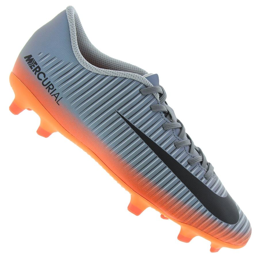 1ec295d006 Chuteira de Campo Nike Mercurial Vortex III CR7 FG - Adulto