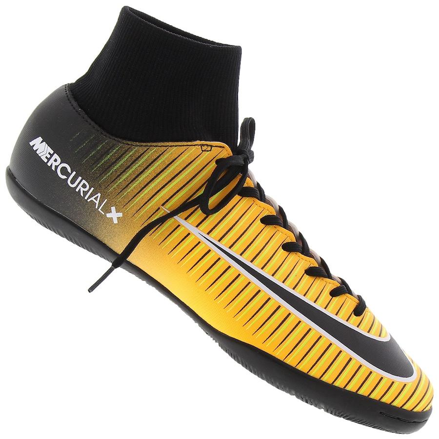 7f9c1091d1 Chuteira Cano Alto Futsal Nike Mercurial X Victory VI DF IC