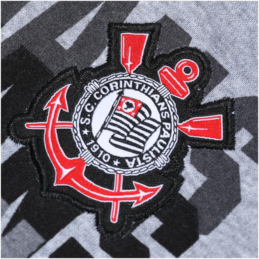 Jaqueta de Moletom do Corinthians com Capuz - Masculina 60a7af4ca71dc