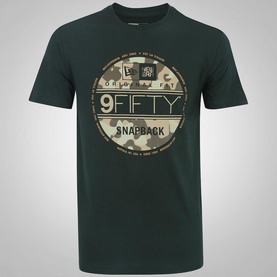 Camiseta New Era Camuflada Militar Selo - Masculina d705a76c6e0ea