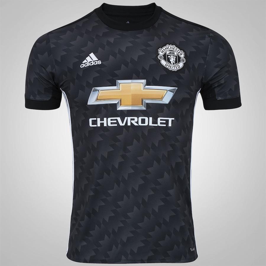 Camisa Manchester United II 17 18 adidas - Masculina 3cde1d2b8ac6d