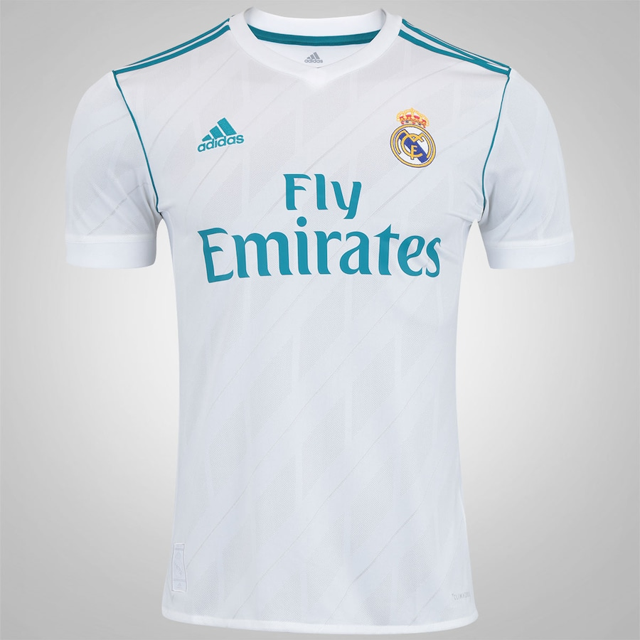 4a44fdef94dff Camisa Real Madrid I 17 18 adidas - Masculina