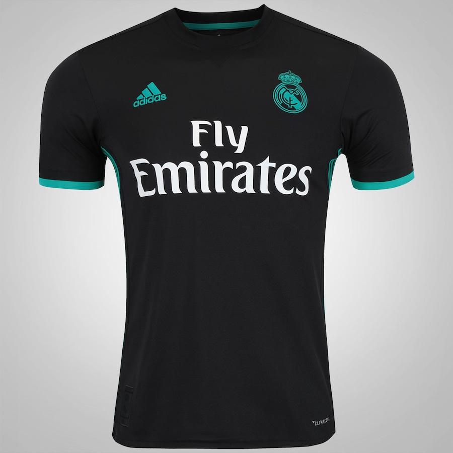 Camisa Real Madrid II 17 18 adidas - Masculina 781247911b0e4