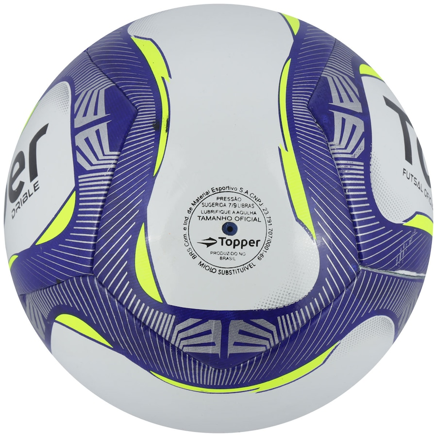59493be6a7698 Bola de Futsal Topper Drible