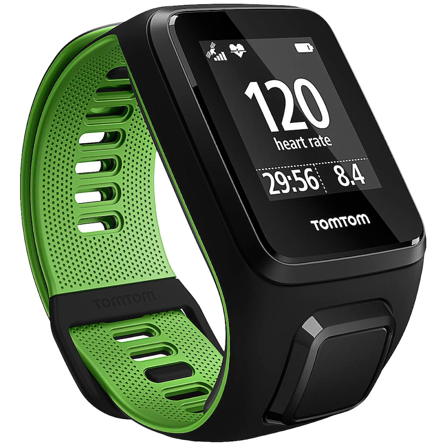 f1d1bfab942 Monitor Cardíaco com GPS Tomtom Runner 3 c  Bluetooth Smart