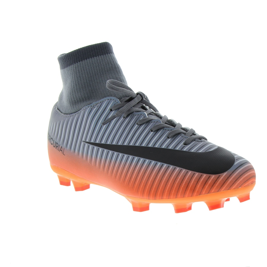 ... Chuteira de Campo Nike Mercurial Victory VI CR7 DF FG - Infantil ... 4fddba6505d9e