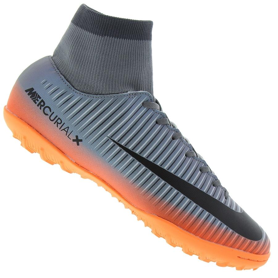 f47b2fad21 Chuteira Society Nike Mercurial Victory CR7 DF TF - Adulto