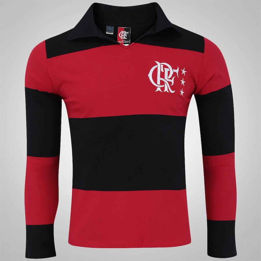 f78a1606a9 Camisa Polo Manga Longa do Flamengo - Masculina